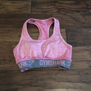 Gymshark pink crop top